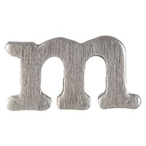 Picture of Silver 'M' Slider Charm