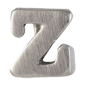 Picture of Silver 'Z' Slider Charm